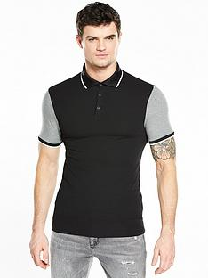 river-island-muscle-fit-polo