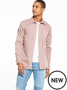 river-island-distressed-denim-shirt