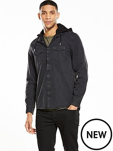 river-island-long-sleeve-denim-hooded-shirt