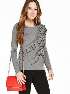 v-by-very-frill-front-long-sleeve-top