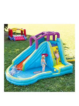 Little Tikes Slam &LsquoN Curve Inflatable Water Slide