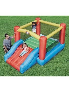 Little Tikes Junior Jump &Amp Slide Bouncy Castle