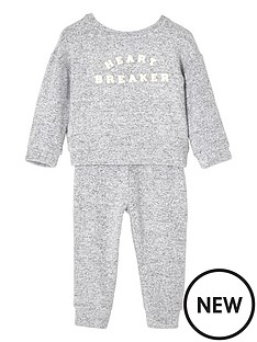 river-island-mini-mini-girls-grey-heartbreaker-joggers-set