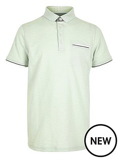 river-island-boys-mint-tipped-polo-shirt