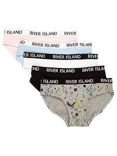 river-island-girls-black-contrast-print-briefs-multipack