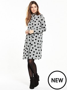 v-by-very-turtlenbspneck-swing-dress