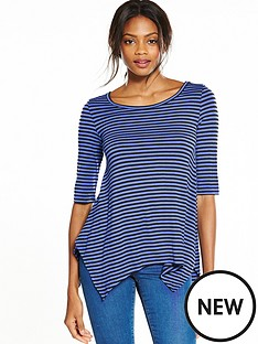 v-by-very-three-quarter-sleeve-swing-top