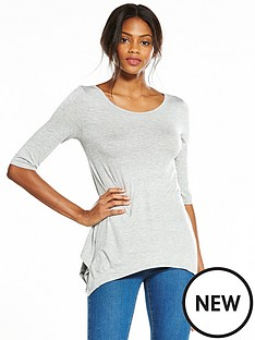 v-by-very-34-sleeve-swing-top