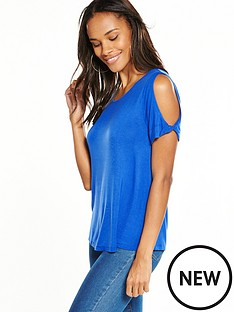 v-by-very-knot-sleeve-tunic-top