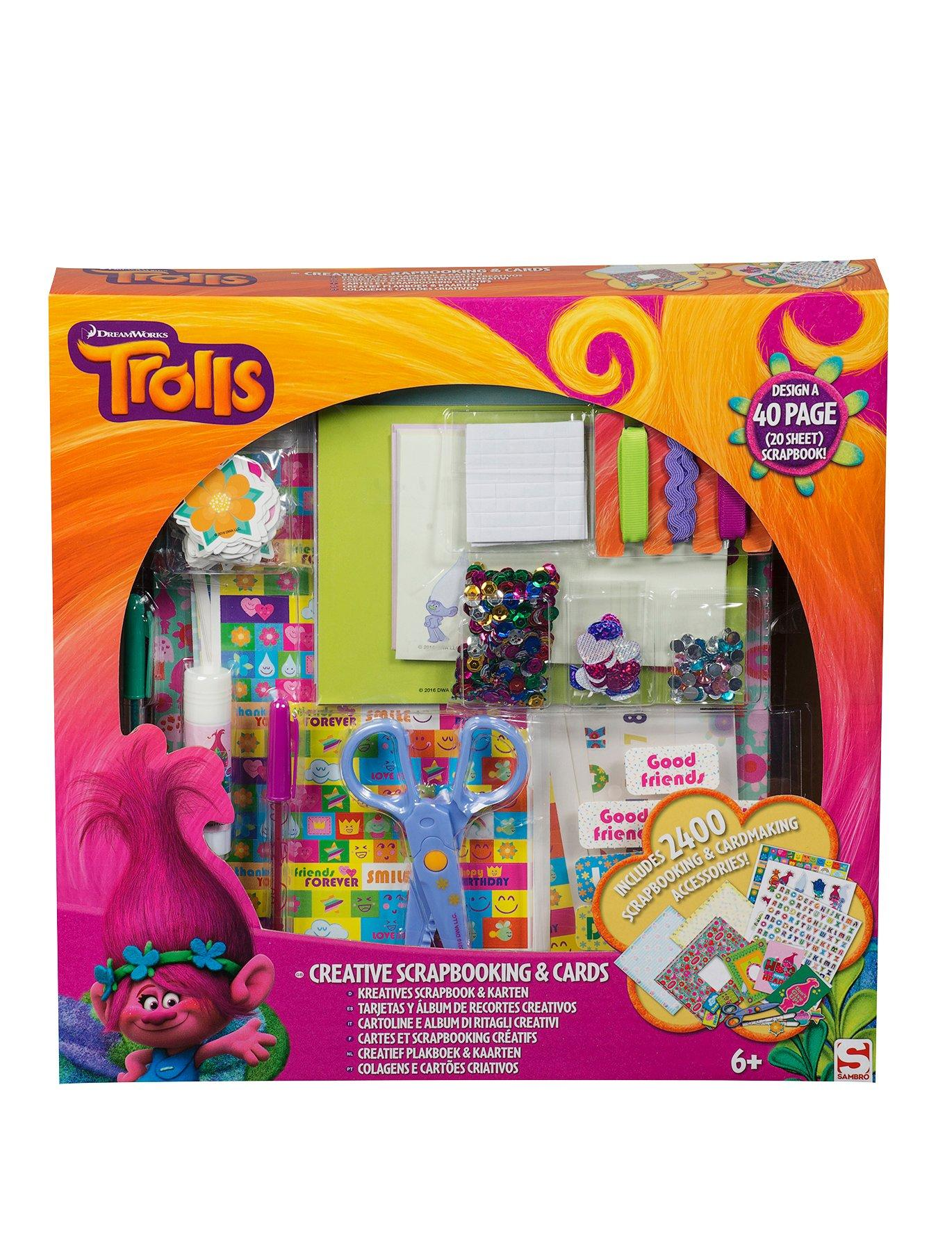 Compare prices for Dreamworks Trolls Scrapbook And Cards