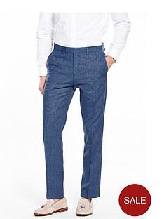 river-island-linen-slim-fit-suit-trousers