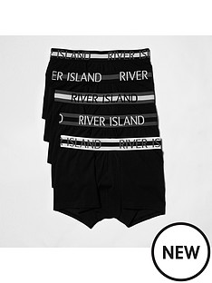 river-island-5-pack-stripe-waistband-hipsters