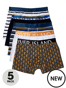 river-island-5-pack-striped-trunks