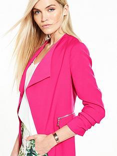 v-by-very-drape-zip-detail-jacket
