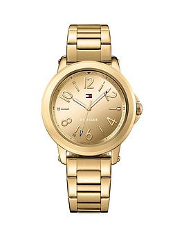 Tommy Hilfiger Tommy Hilfiger Ellie Gold Tone Dial Gold Tone Bracelet Ladies Watch