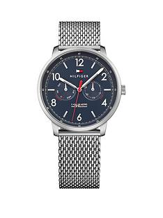 tommy-hilfiger-tommy-hilfiger-will-blue-multi-dial-stainless-steel-mesh-bracelet-ladies-watch