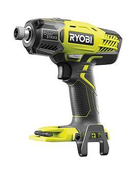 Ryobi  R18Qs-0 18V One+ Cordless 3-Speed Quietstrike Impact Driver (Bare Tool)