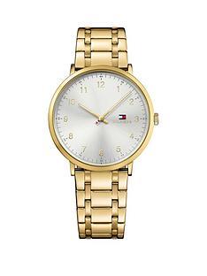 tommy-hilfiger-tommy-hilfiger-james-white-dial-gold-tone-bracelet-mens-watch