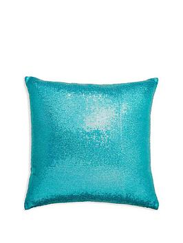 arthouse-glitz-teal-cushion