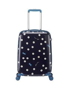 Radley Vintage Dog Dot 4 Wheel Cabin Case