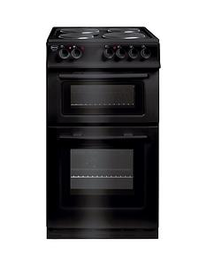 swan-sx2011b-50cm-wide-freestanding-twin-cavity-electric-cooker--nbspnext-day-delivery-black