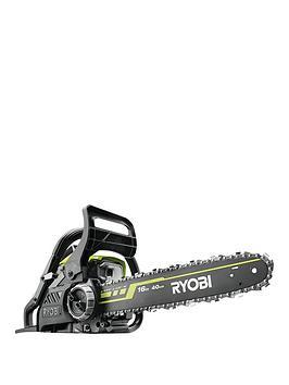 Product photograph showing Ryobi Rcs3840t Petrol 37 2cc 40cm Chainsaw