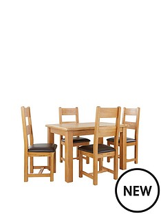 new-oakland-120cm-solid-wood-dining-table-amp-4-oakland-chairs