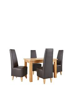 oakland-120-cm-100-solid-wood-dining-table-amp-4-manhattan-chairs