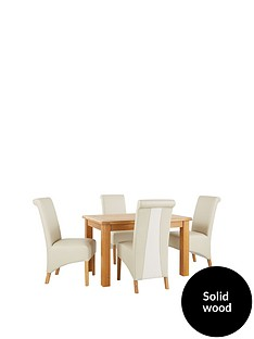 oakland-120cm-solid-wood-dining-table-4-sienna-chairs