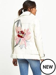 river-island-embroidered-aviator-jacket-cream