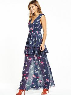 lost-ink-print-floral-pleat-maxi-dress