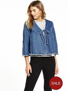 lost-ink-short-denim-tie-front-jacket-indigo-blue