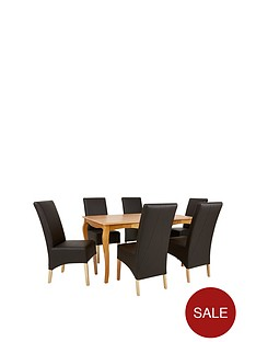 alisha-solid-wood-dining-table-6-eternity-chairs
