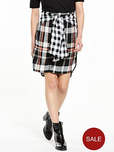 river-island-tie-waist-shirt-skirt