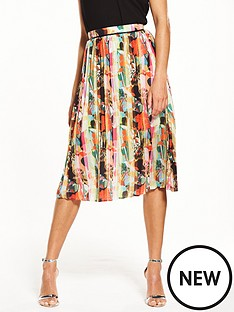 lost-ink-lost-ink-hammered-satin-pleated-skirt
