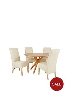 starburst-119-cm-oak-veneer-circular-dining-table-4-eternity-chairs