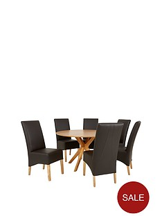 starburst-119-cm-oak-veneer-circular-dining-table-6-eternity-chairs