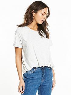 lost-ink-pleat-tucked-crop-t-shirt-light-grey