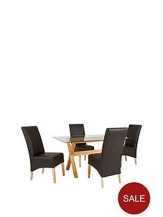 venla-150-cm-solid-wood-and-glass-dining-table-4-eternity-chairs