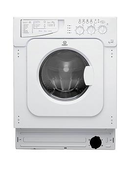 Indesit Ecotime Iwde126 6Kg Wash 5Kg Dry 1200 Spin Integrated Washer Dryer  White