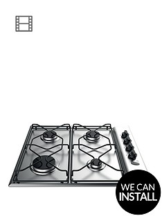 indesit-aria-paa642ixiwe-60cm-built-in-gas-hob-stainless-steel