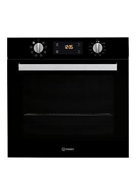 Indesit Indesit Aria Ifw6340Bluk Built-In Single Electric Oven - Black -  ... Picture