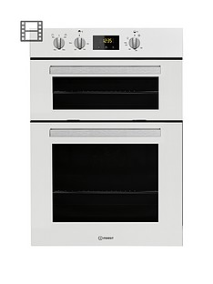 indesit-aria-idd6340wh-built-in-double-electric-oven-white