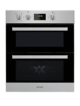 Indesit Indesit Aria Idu6340Ix Built-Under Double Electric Oven -  ... Picture