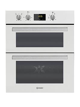 Indesit Indesit Aria Idu6340Wh Built-Under Double Electric Oven - White -  ... Picture