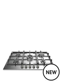 indesit-aria-thp751wixi-75cm-built-in-gas-hob-stainless-steel