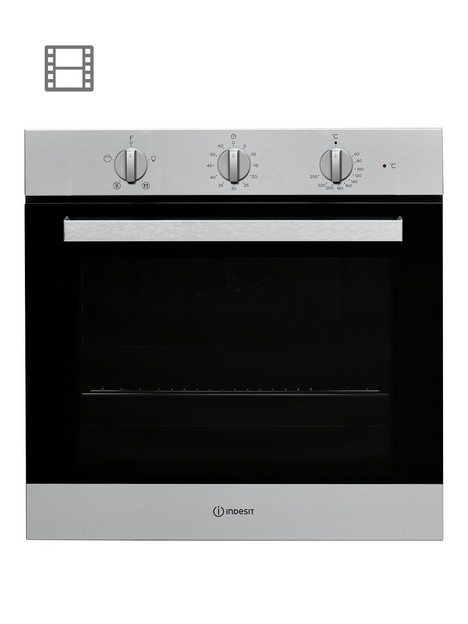 indesit-aria-ifw6330ixuk-built-in-single-electric-ovennbsp--stainless-steel