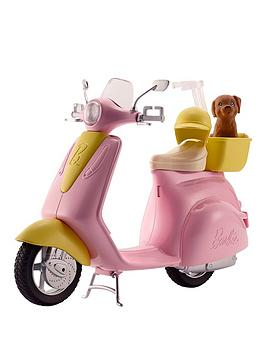 barbie-scooter-and-puppy
