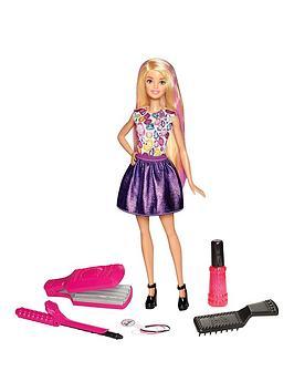 Barbie Barbie D.I.Y. Crimps &Amp Curls Doll
