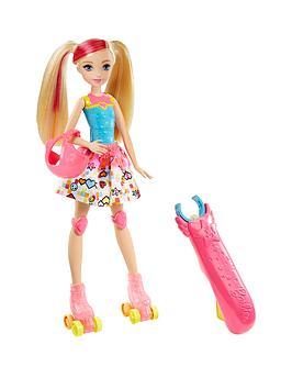 Barbie Barbie Video Game Hero LightUp Skates Barbie Doll